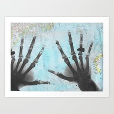 The Good Father's Hands Art Print