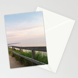 Walking in a Postcard Stationery Cards