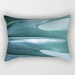 Leaf Of A Cheese Plant Rectangular Pillow