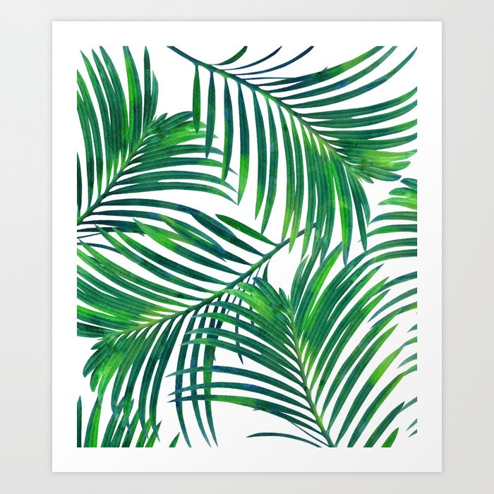 Palm Paradise society6 decor buyart