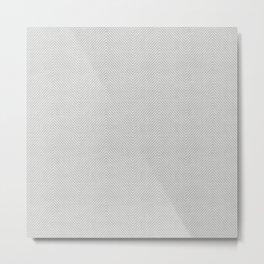 Stitch Weave Geometric Pattern in Grey Metal Print