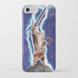 Lightning Cat iPhone Case