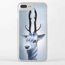 Antler beast Clear iPhone Case