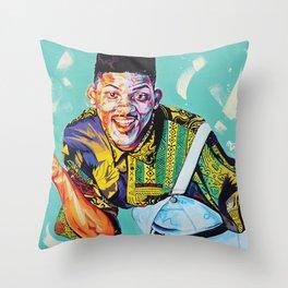 Fresh Prince of Bel-Air Throw Pillow