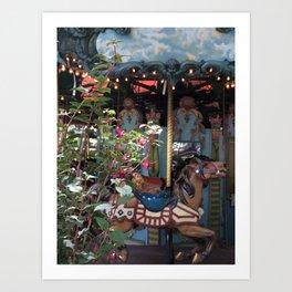 Bryant Park Carousel Art Print