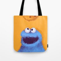 cookies Tote Bags featuring Cookies  by Lime