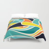 wind Duvet Covers featuring Wind by Josh Franke