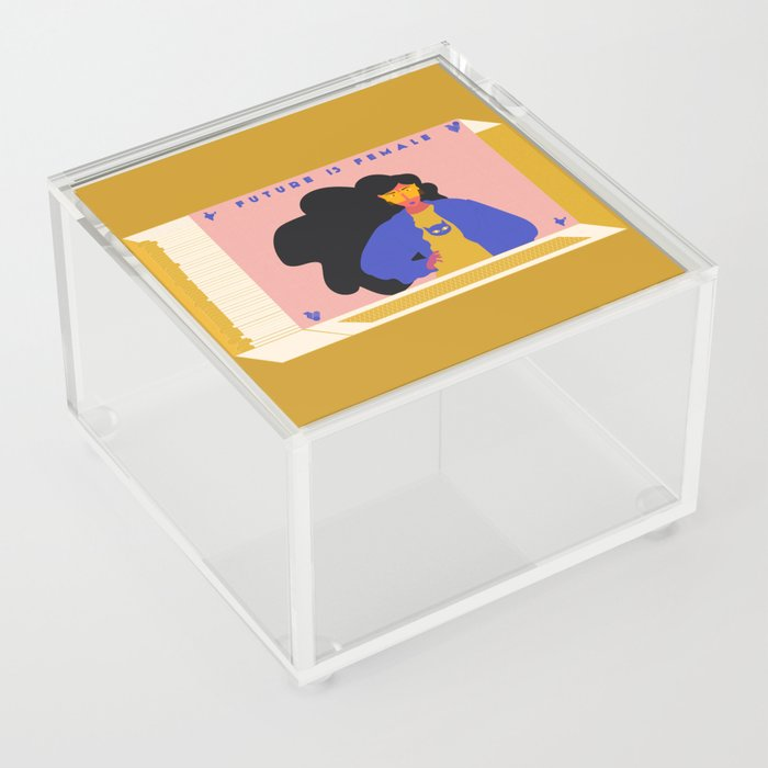 Future is Female Acrylic Box