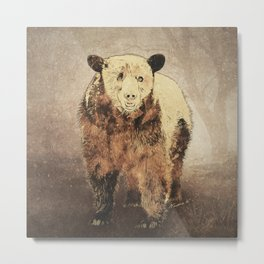 Formosan Black Bear Metal Print