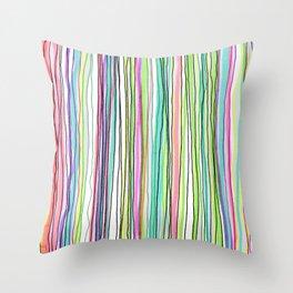 Rayas Throw Pillow
