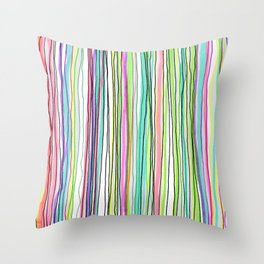 Rayas Throw Pillow
