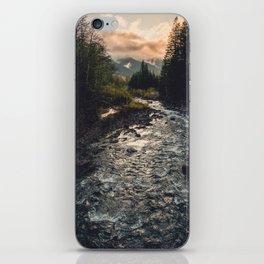 The Sandy River II iPhone Skin