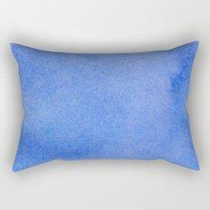 Azure watercolor Rectangular Pillow