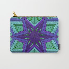 Star Violets Carry-All Pouch