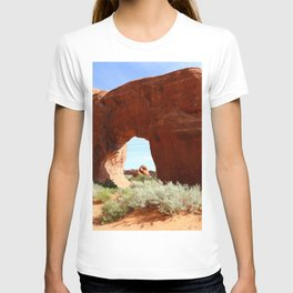 At The End Of The Trail - Pine Tree Arch T-shirt