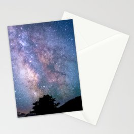 The Night Sky II - glowing stars Stationery Cards