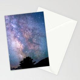 The Night Sky II - glowing stars Stationery Cards