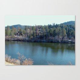 Lake Gregory Canvas Print