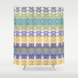 Boujee Boho Lush Luscious Royal Rococo Lace Shower Curtain