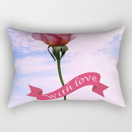 With love Rectangular Pillow