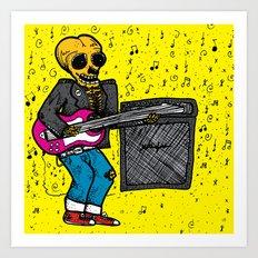 Rock 'N' Roll Art Print
