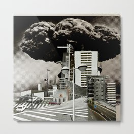 city unreal 7 DeadEnd Metal Print
