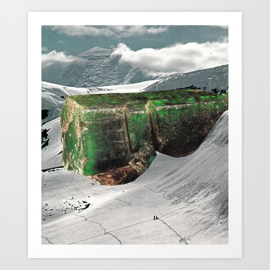 From Here On In Art Print