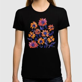 Sunflowers – Sunset Palette T-shirt