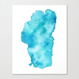 Lake Tahoe Watercolor Leinwanddruck