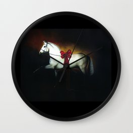 The Gift Horse Wall Clock