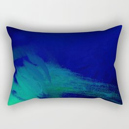 Turquoise Waters Rectangular Pillow