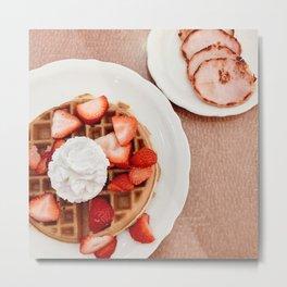 Join me for breakfast Metal Print