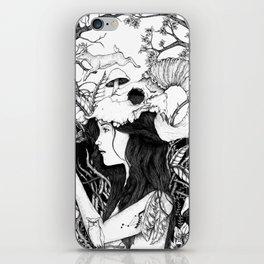 Nature goddess original iPhone Skin