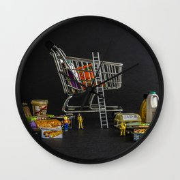 Click And Collect Wall Clock