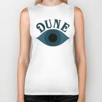 dune Biker Tanks featuring Dune by ephemerality