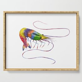 Colorful Shrimp Serving Tray