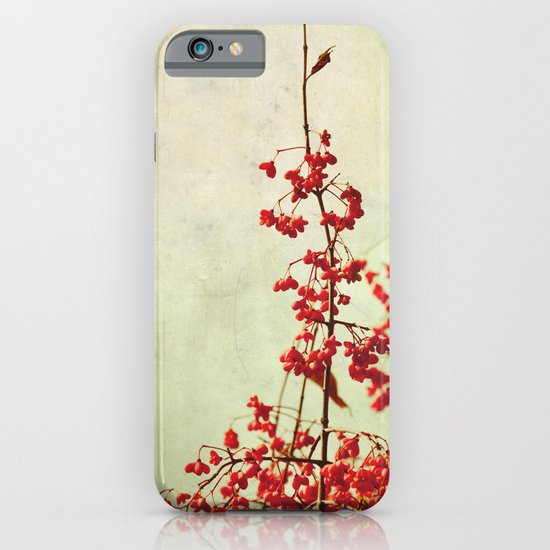 autumn berries iPhone & iPod Case