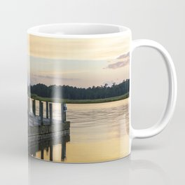 Sunset at the Denbigh Boat Ramp II Coffee Mug