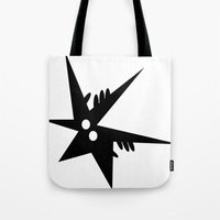 comic Tote Bags featuring Comic by shirteam