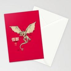 Kaiju Anatomy 2 Stationery Cards