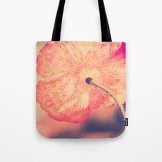 La Bohême, Carefree Poppy Flower Lomo SQ Tote Bag