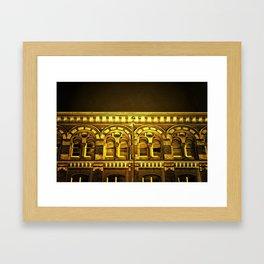 Night Glow Framed Art Print