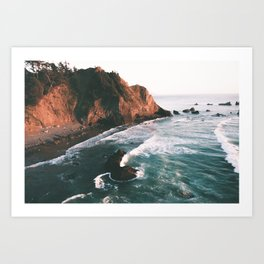 Oregon Coast V Art Print