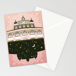 Budapest Bath House – Peach & Gold Palette Stationery Cards