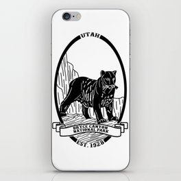 Bryce Canyon Emblem iPhone Skin