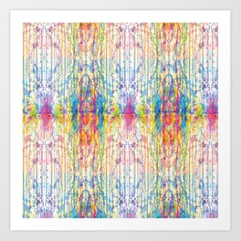 Melt Colors Series: Mess Art Print