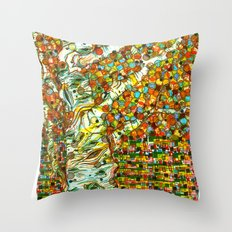 Autumn Aspen Throw Pillow
