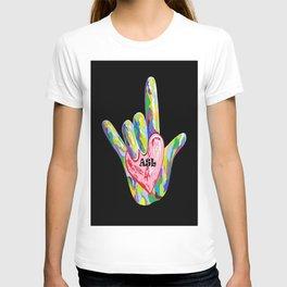 I Heart ASL T-shirt