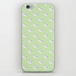 Derp Cat in Green iPhone Skin
