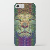 lion king iPhone & iPod Cases featuring Lion King by Zandonai